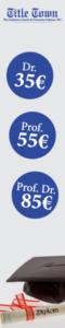 Doktortitel kaufen bei Title Town